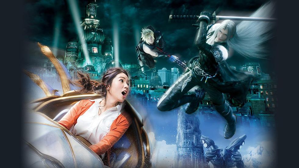 Final Fantasy XR Ride en Universal Studios Japan