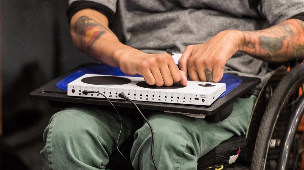 Control para personas con discapacidad