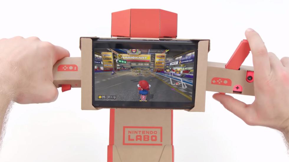 Mario Kart 8 y Nintendo Labo