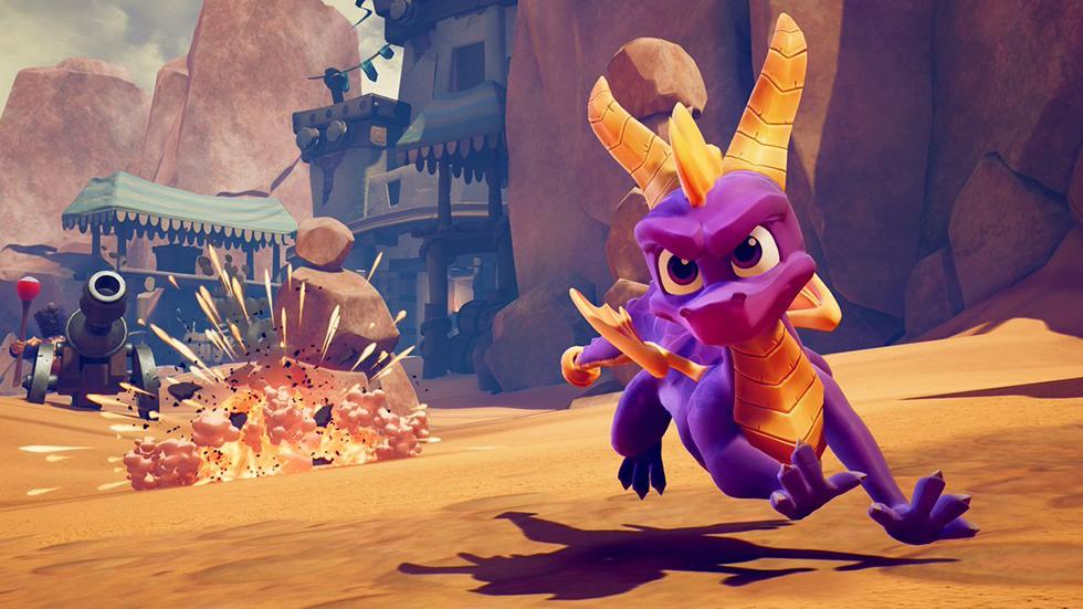 Spyro Reignited Trilogy se retrasa