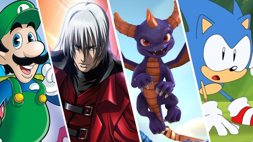 Series animadas de videojuegos