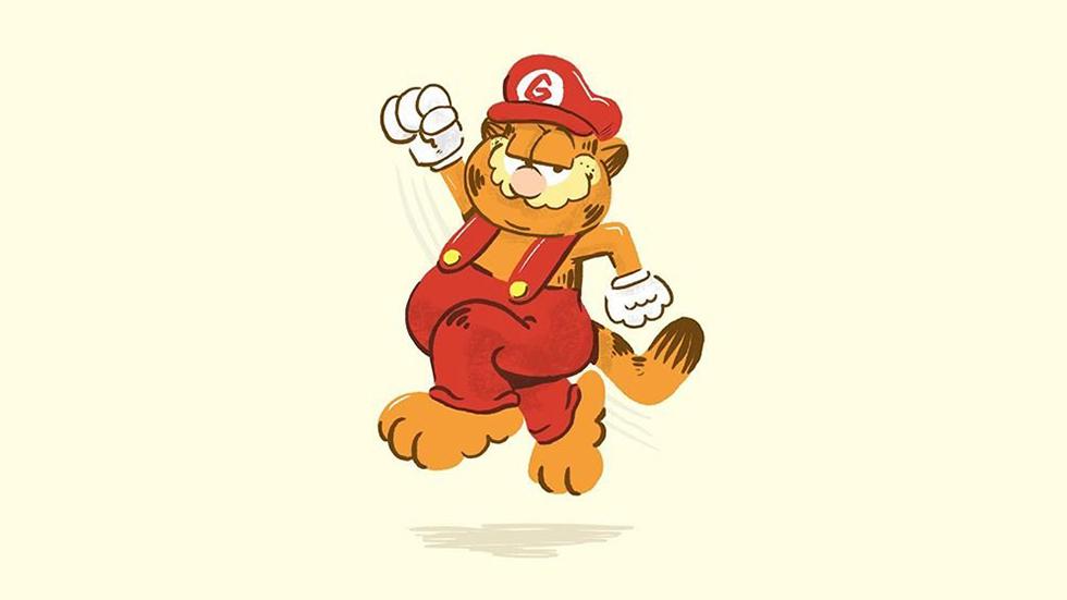 Garfield (diseño Fanmade)