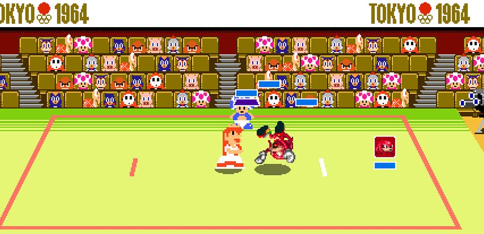 Mario Sonic Olympic 2D