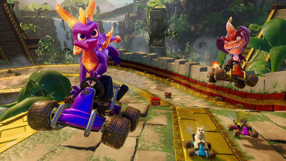 Spyro Crash Team Racing