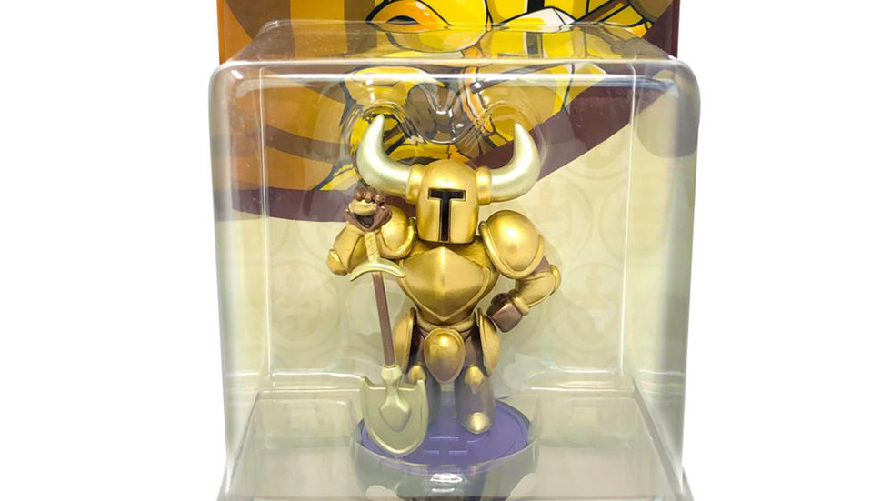 Amiibo Dorado Shovel Knight