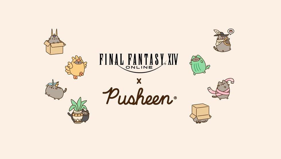 Final Fantasy XIV Pusheen crossover
