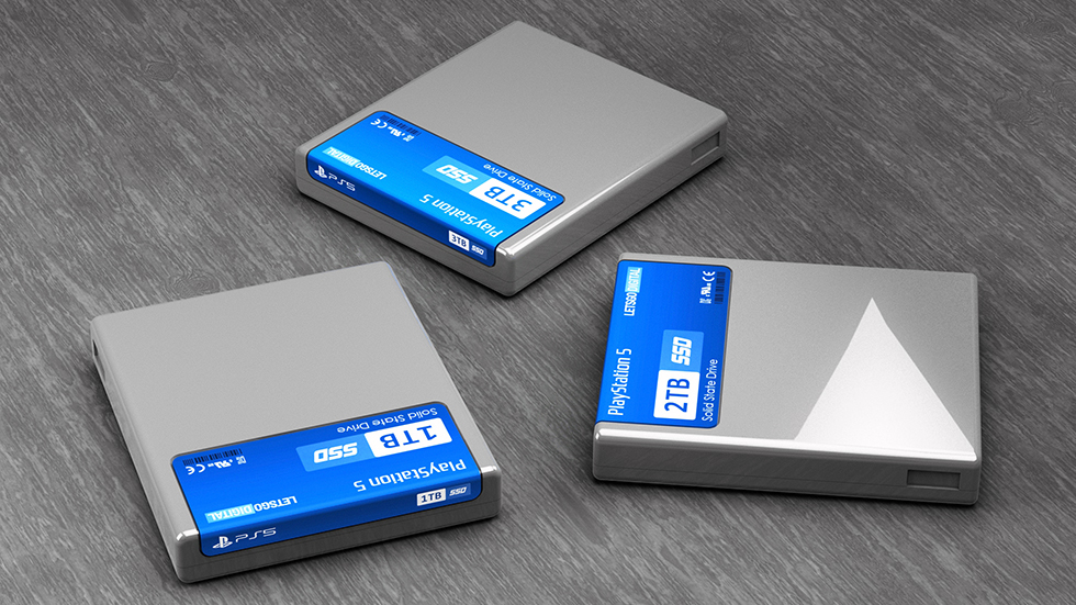 PlayStation 5 cartuchos SSD