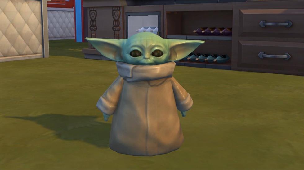 Baby Yoda The Sims