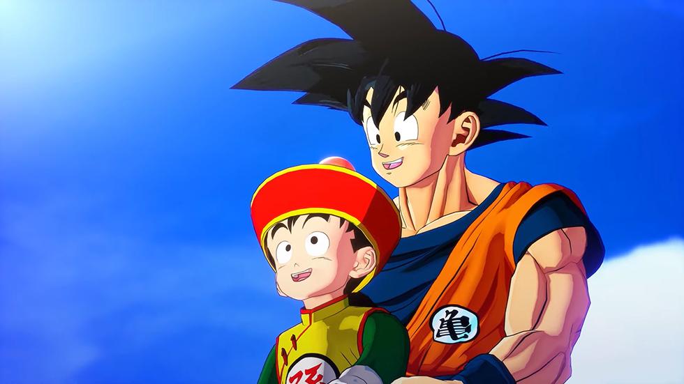 Dragon Ball Z Kakarot cinemática