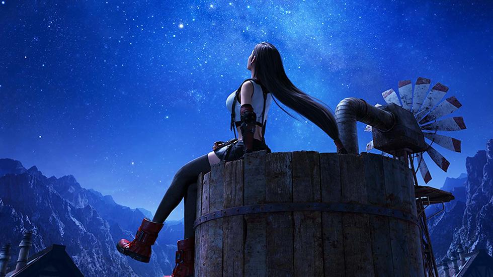 Final Fantasy VII Remake arte