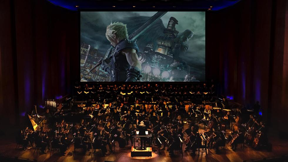 Final Fantasy VII Remake música orquestal