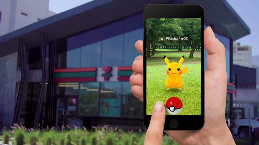 Pokémon Go y 7-Eleven