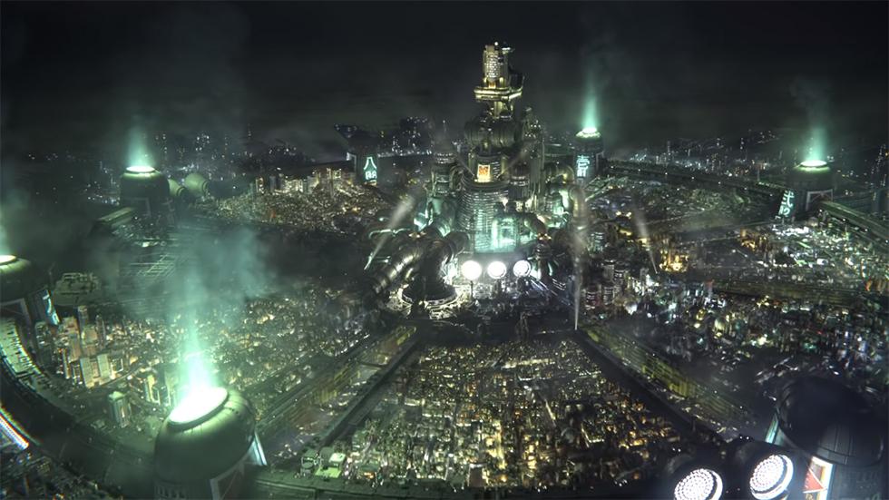 Final Fantasy VII Remake inicio