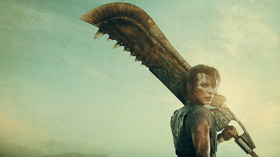 Monster Hunter posters filme