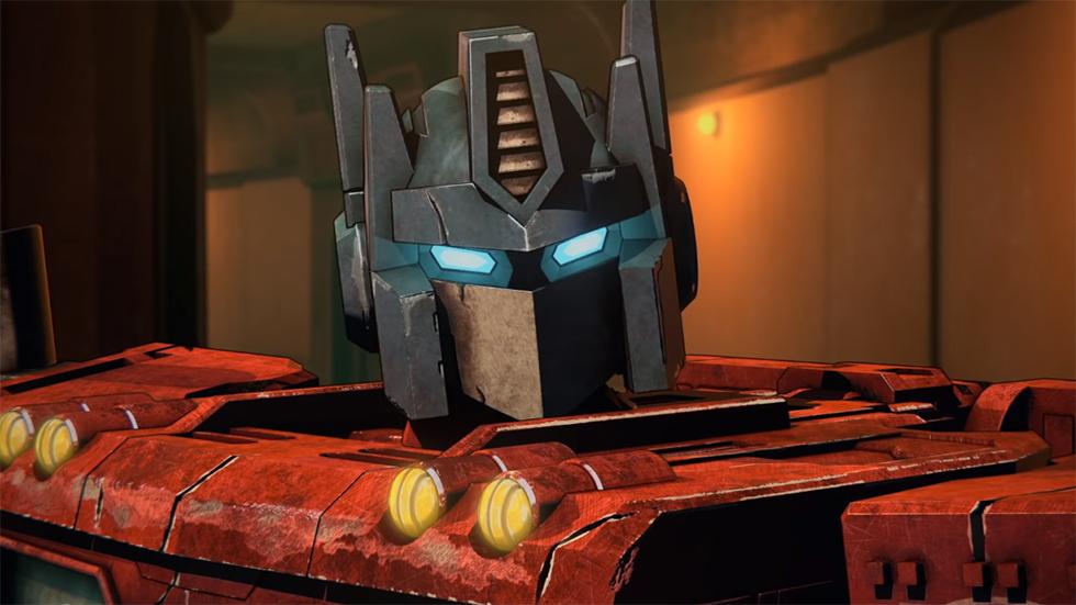 Netflix Transformers Cybertron tráiler