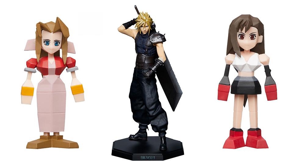 Final Fantasy VII coleccionables