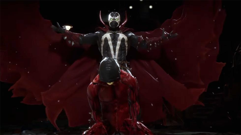Spawn tráiler Mortal Kombat 11
