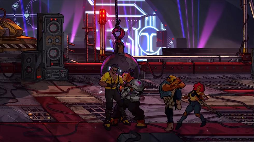 Streets of Rage 4 lanzamiento