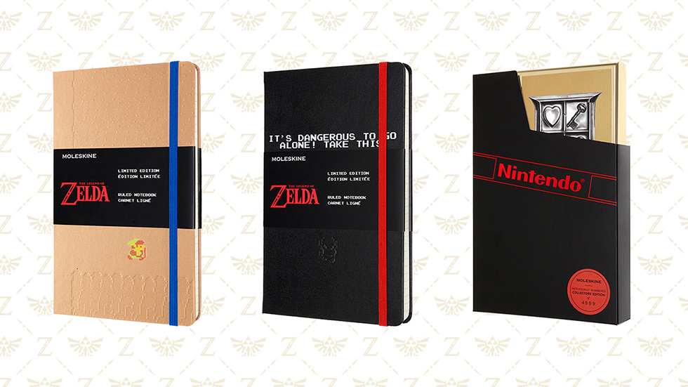Libretas Zelda Moleskine