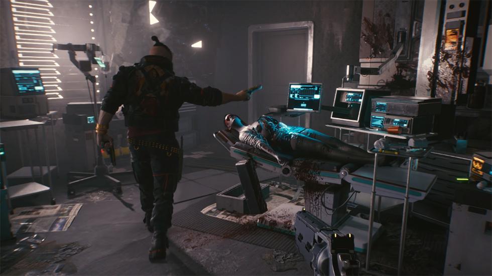 Primer Night City Dive Cyberpunk 2077