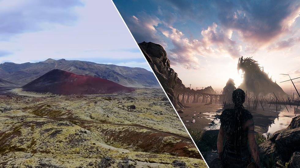 Hellblade 2 Islandia