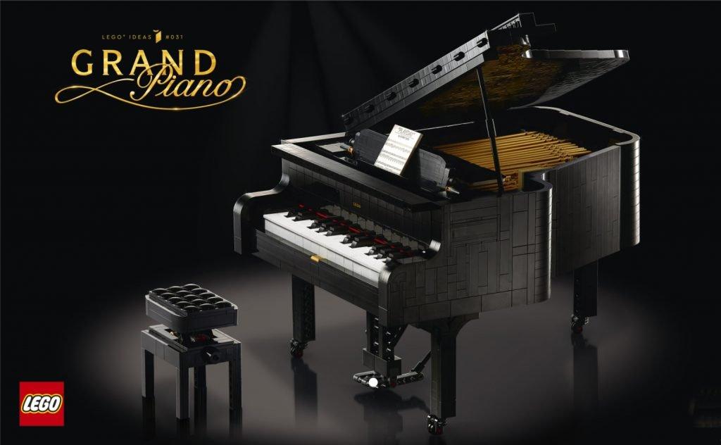 grand piano lego