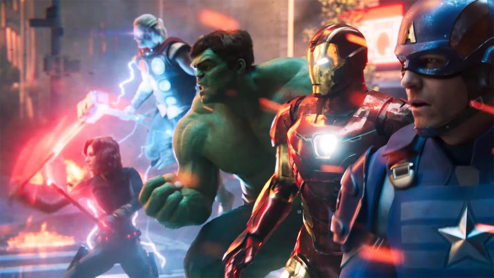 Marvels Avengers tráiler lanzamiento
