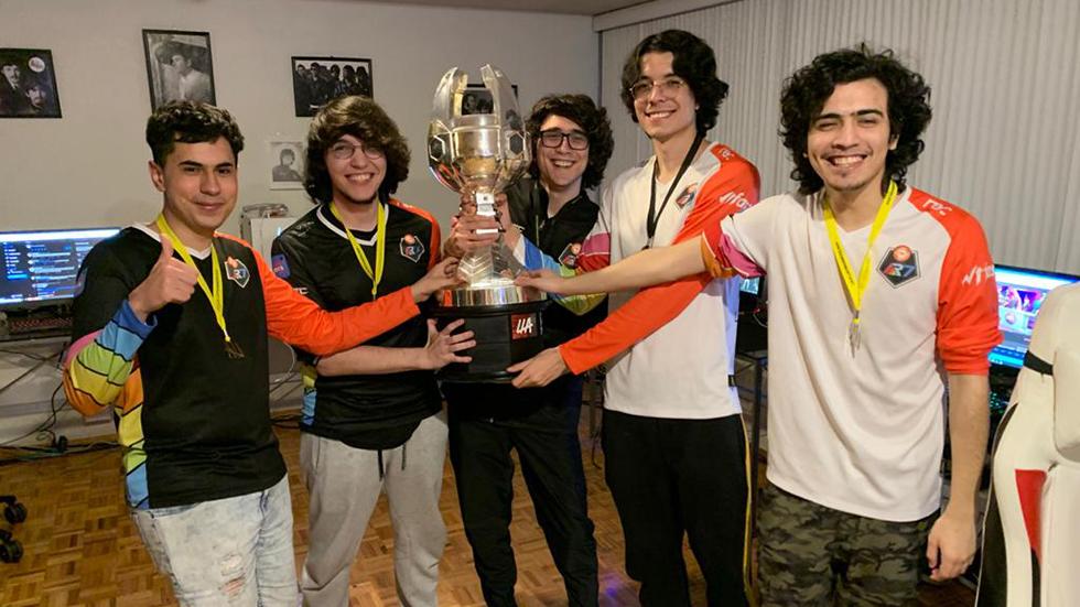 Rainbow7 campeón lla 2020
