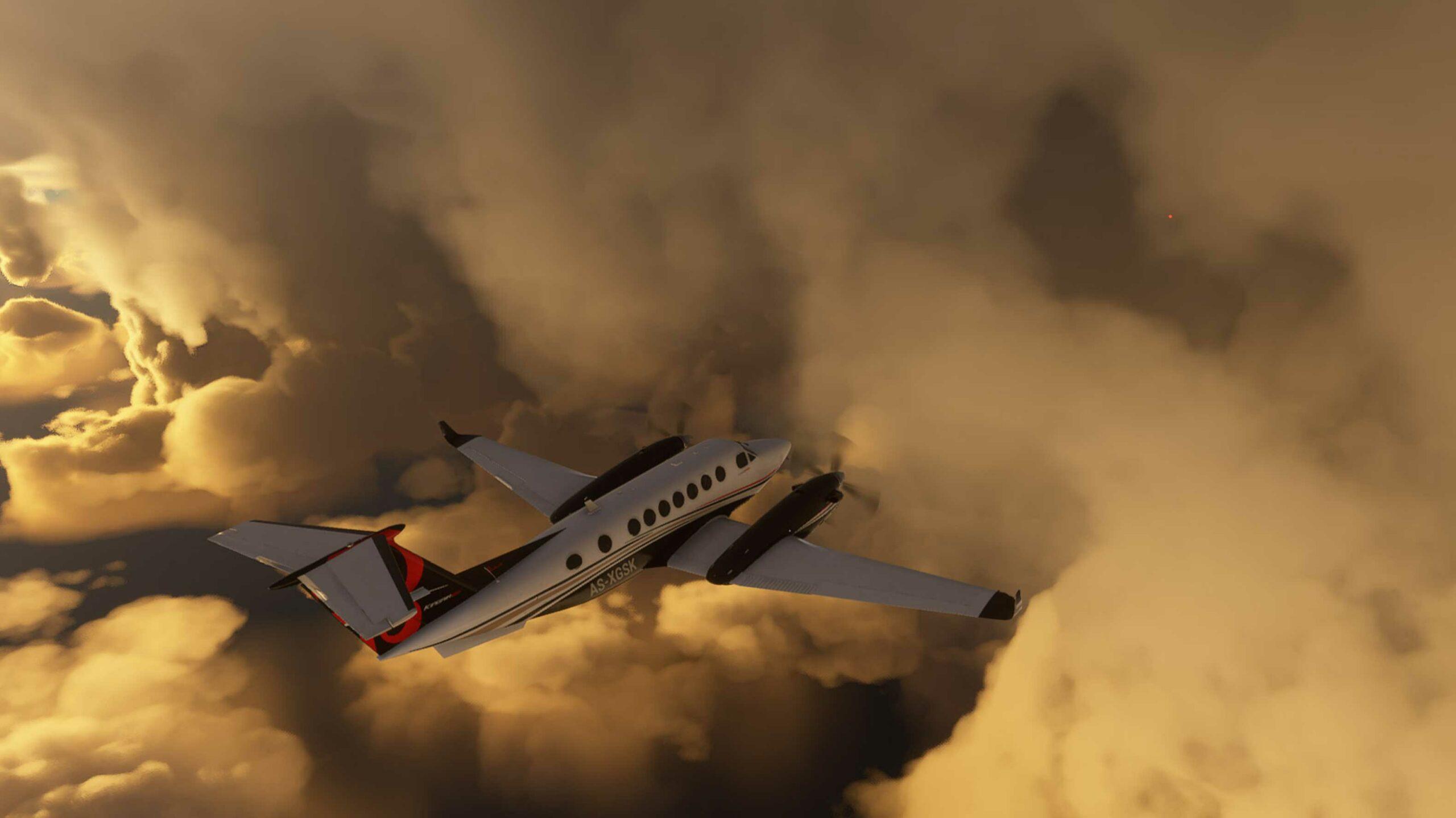 flight simulator huracan laura