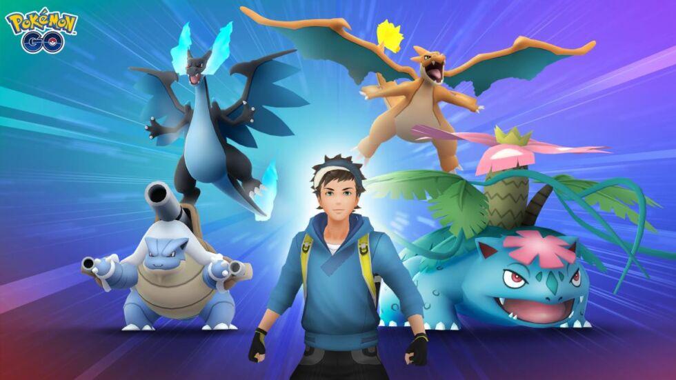 Pokémon Go - mega evoluciones