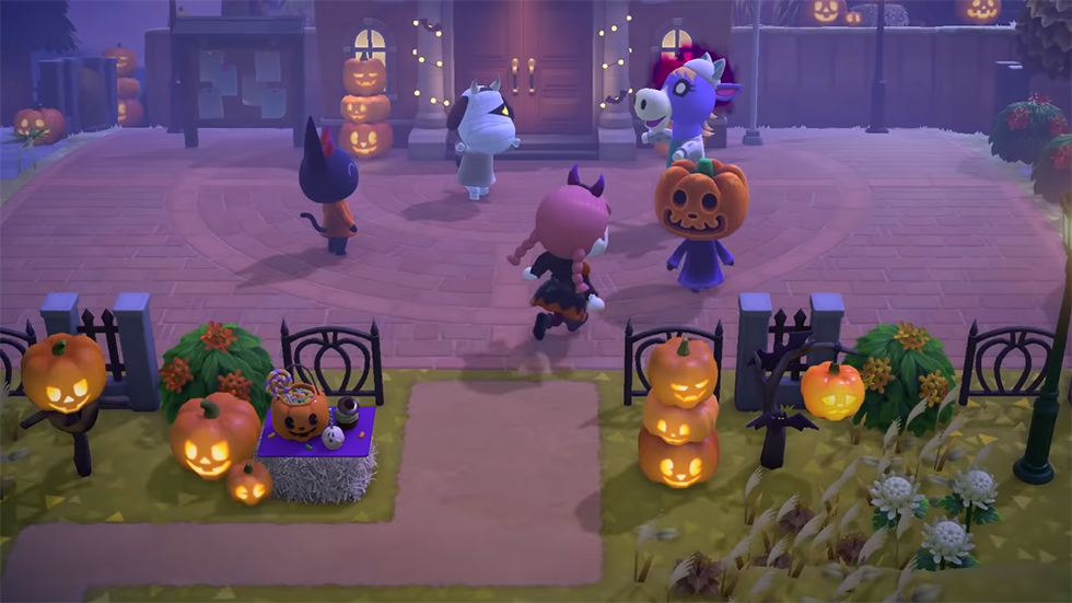 Animal New Horizons Halloween