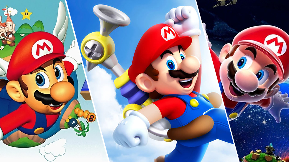 Suoer Mario 3D All-Stars