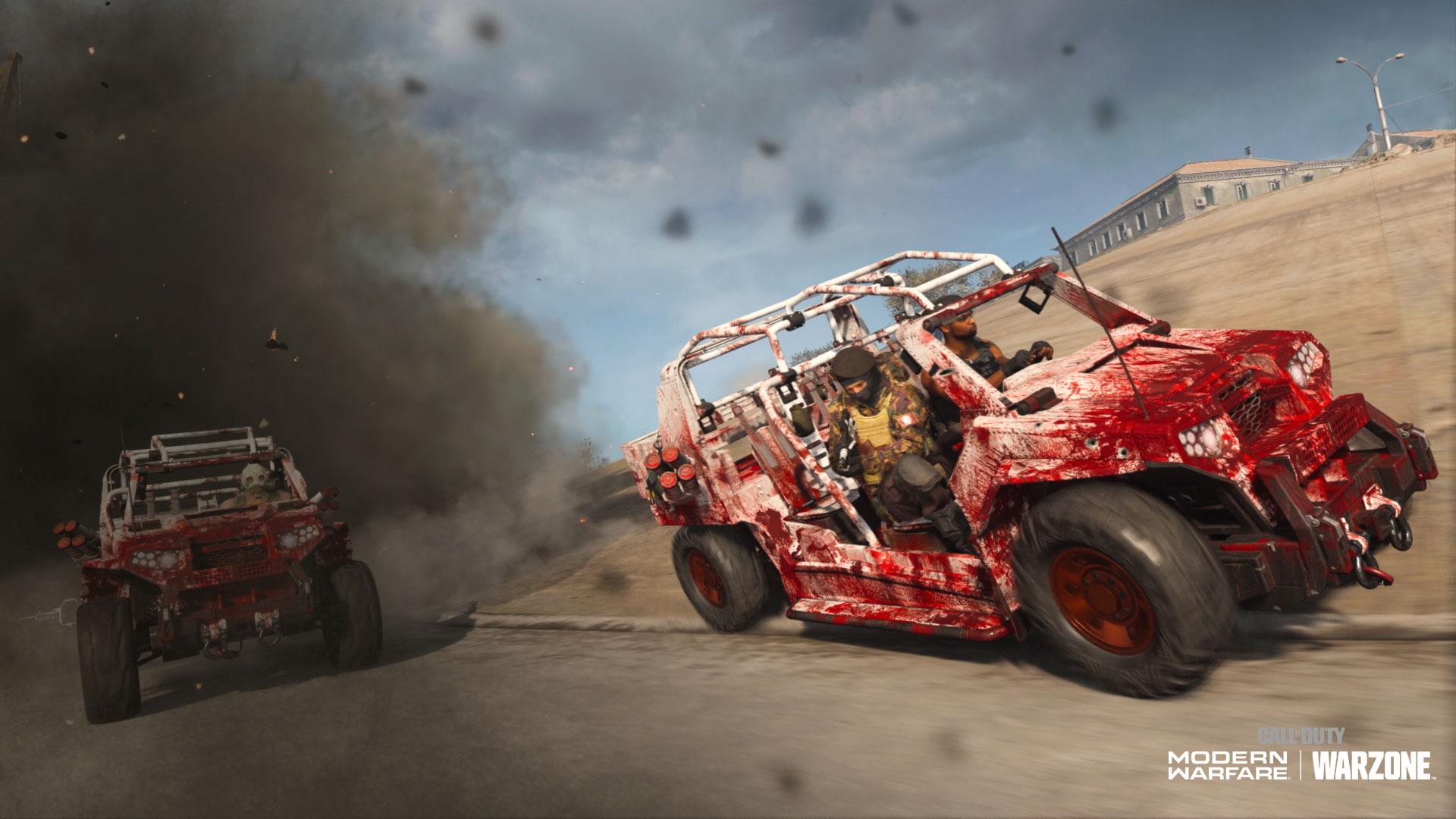 Call of Duty Halloween truck skin