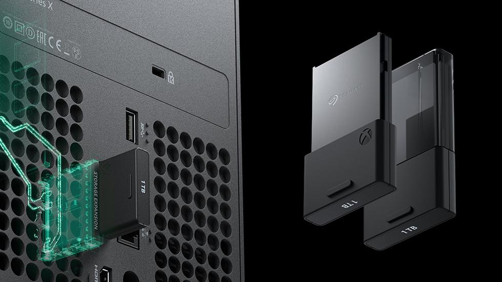 Xbox Series X tarjeta
