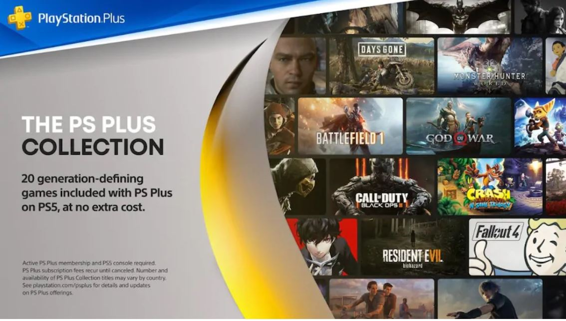 Lista completa PlayStation Plus Collection
