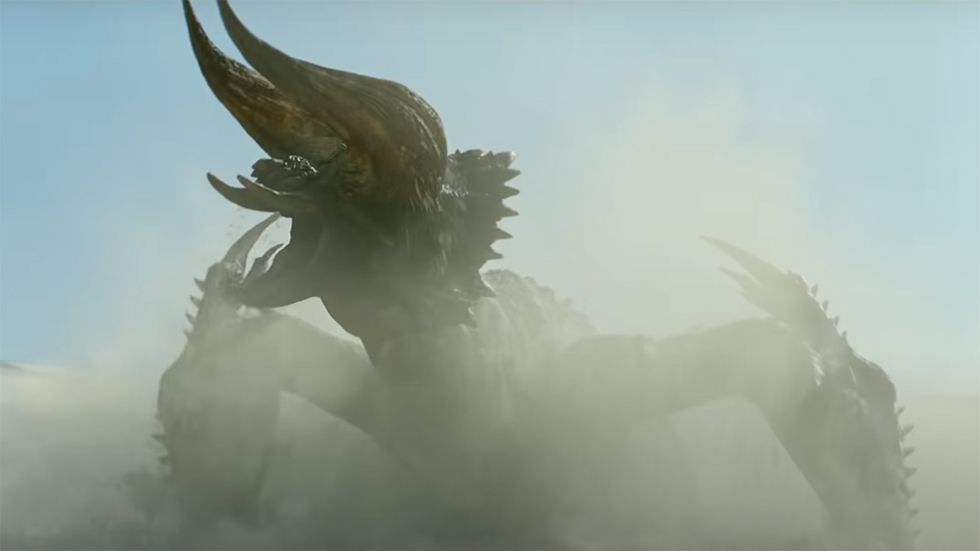 Monster Hunter teaser filme