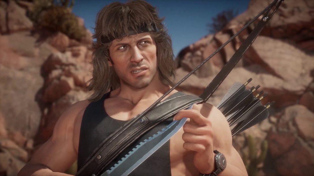Rambo Mortal Kombat 11 Ultimate