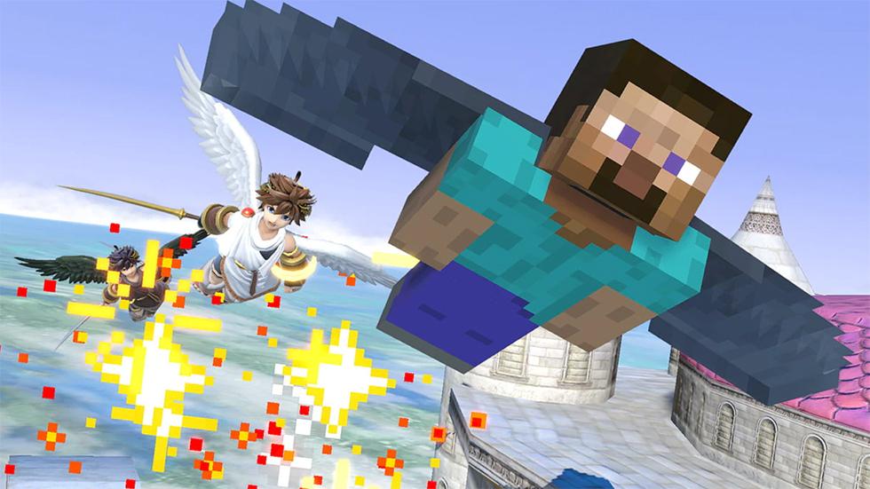Steve Smash Bros. Ultimate