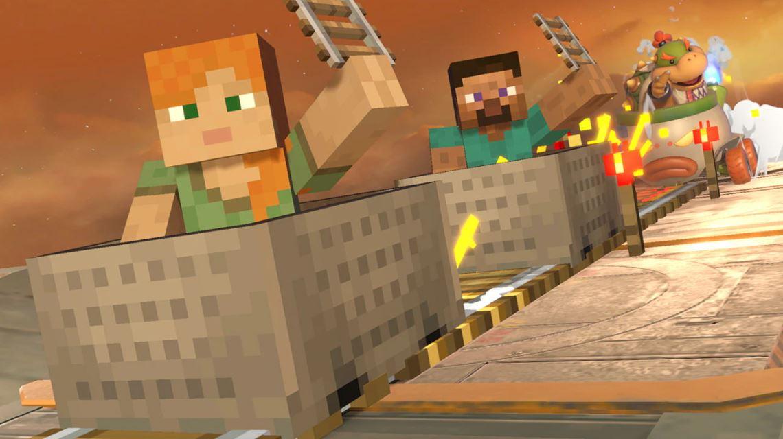 Steve y Alex son los nuevos personajes de Super Smash Bros. Ultimate