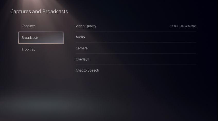Configuración transmisión Twitch