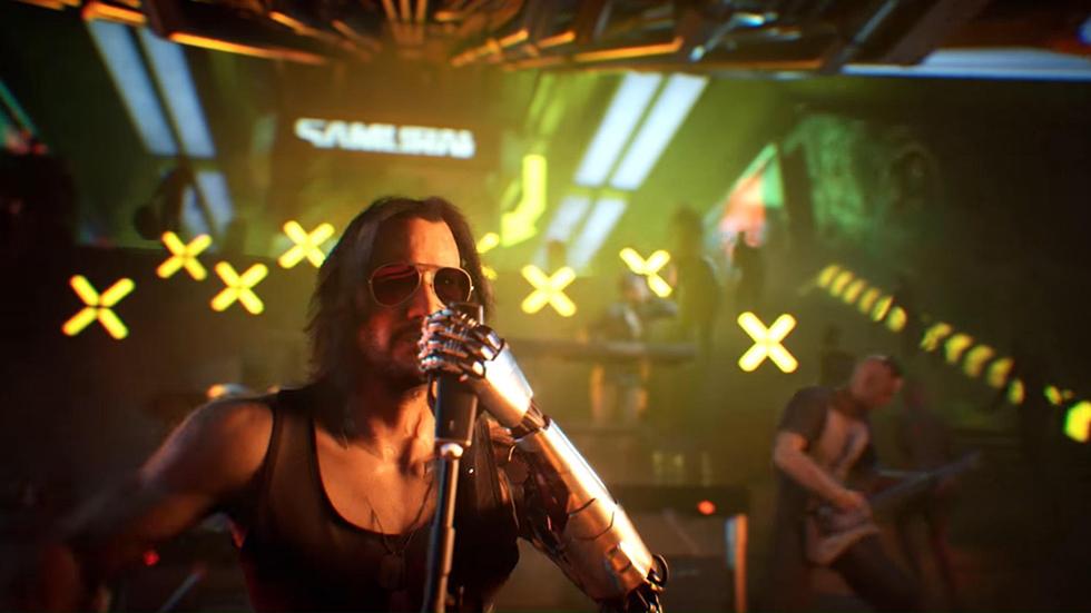 Cyberpunk 2077 música Copyright