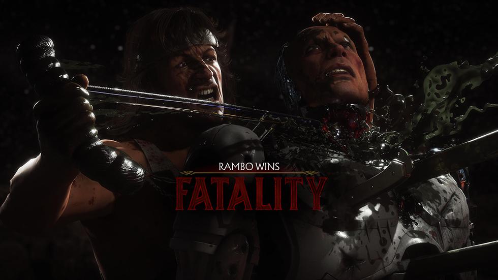 MK 11 Ultimate Fatality en 4K