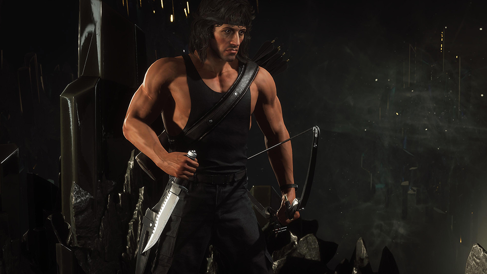 MK 11 Ultimate Rambo
