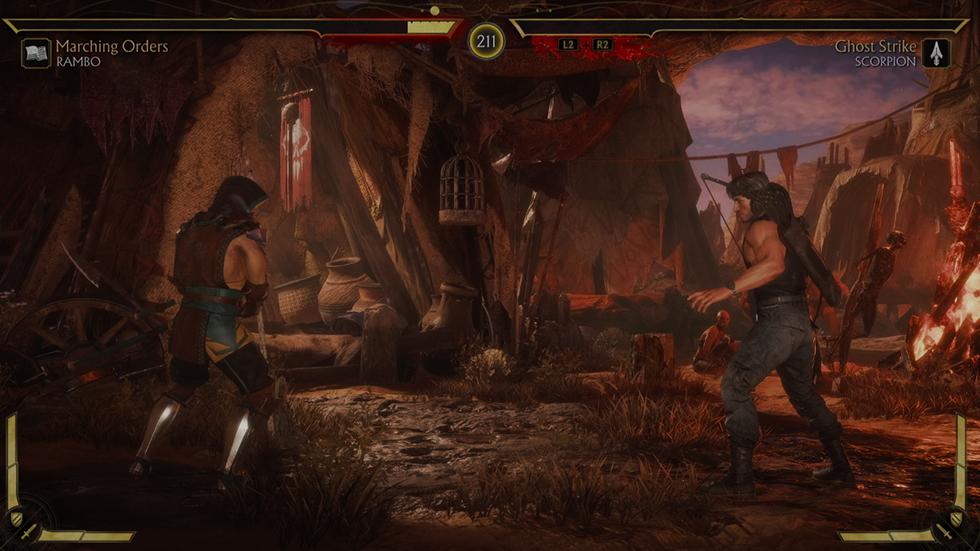 MK 11 Ultimate reseña pelea