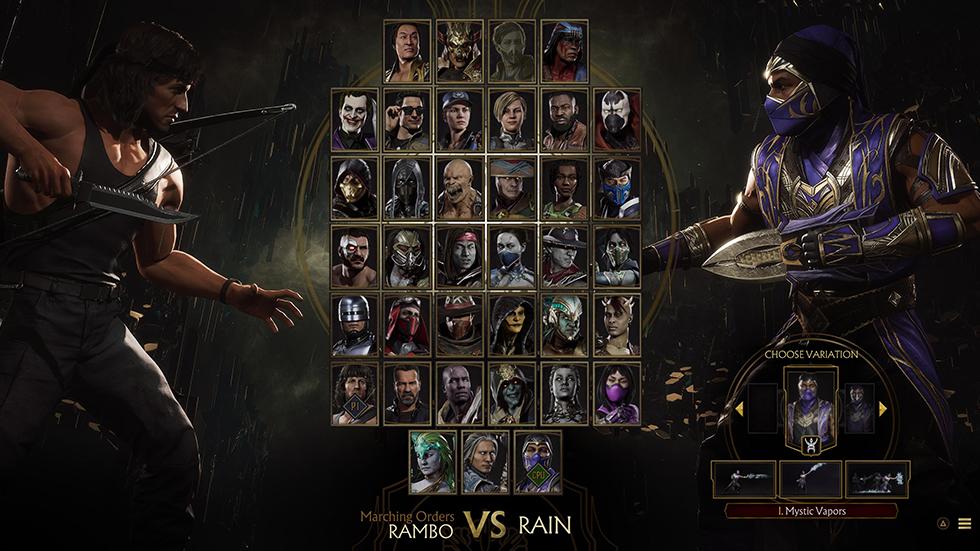 Mortal Kombat 11 Ultimate 37 peleadores