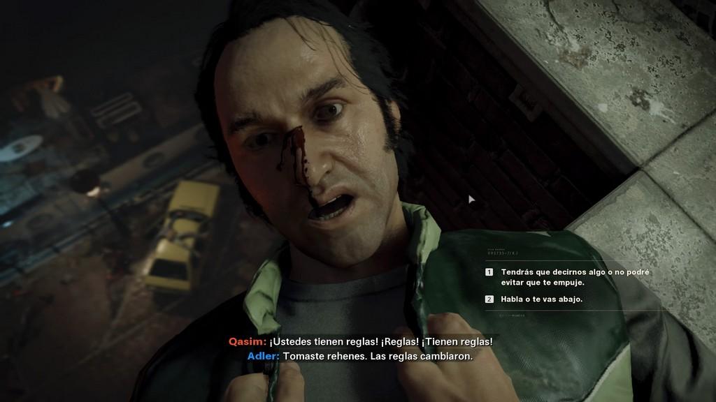 Opción de respuesta Call of Duty Black Ops Cold War