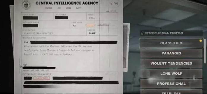 Personalización de personaje Call of Duty Black Ops Cold War