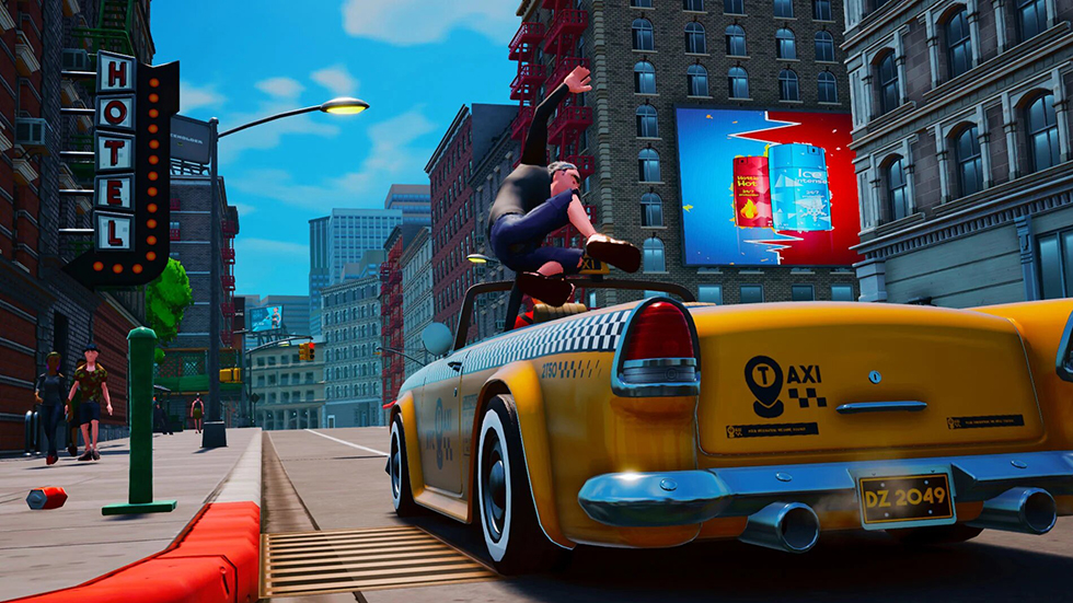 Crazy Taxi Taxi Chaos