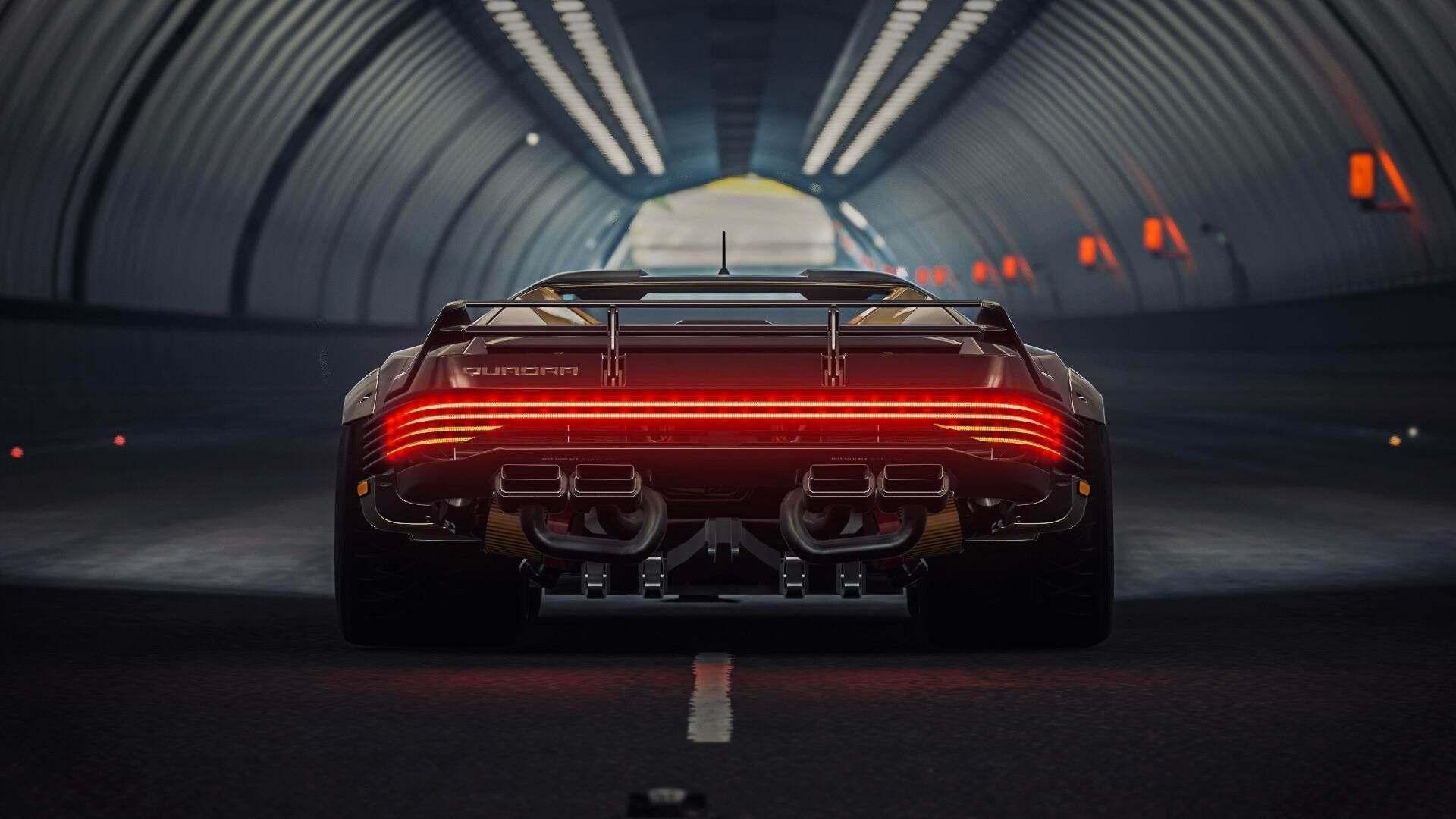 Quadra Turbo-R V-Tech en Forza Horizon 4