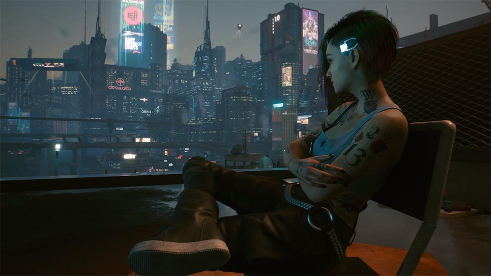 Cyberpunk 2077 tráiler lanzamiento